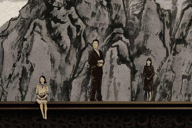 parasite poster Joon Ho Bong