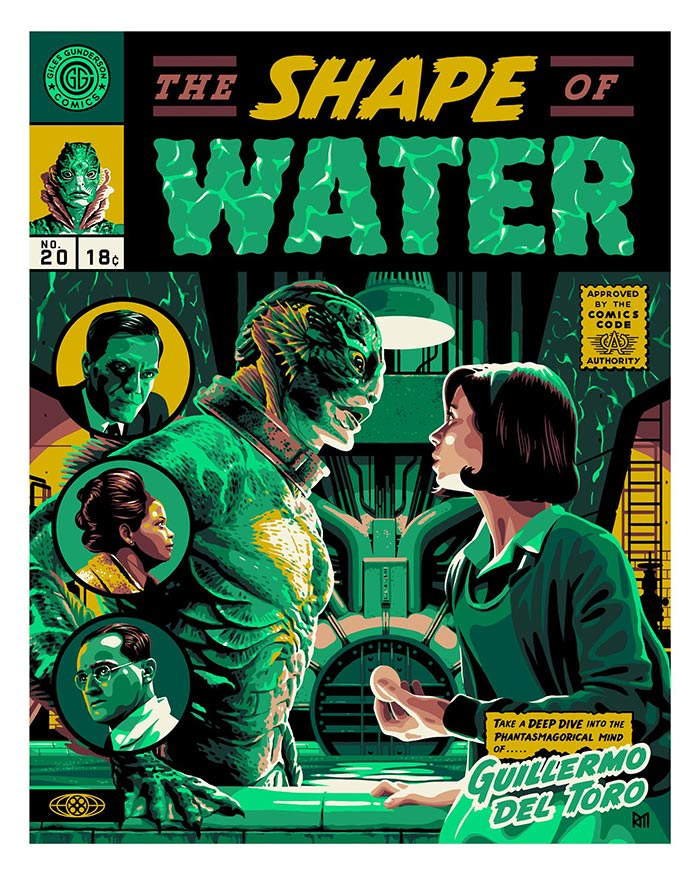 The Shape Of Water Ross Murray