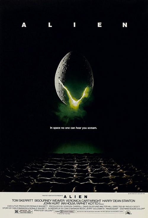 Alien (1979) Dir. Ridley Scott