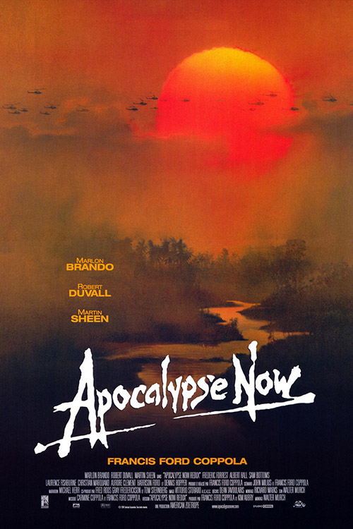 Apocalypse Now (1979) Dir. Francis Ford Coppola