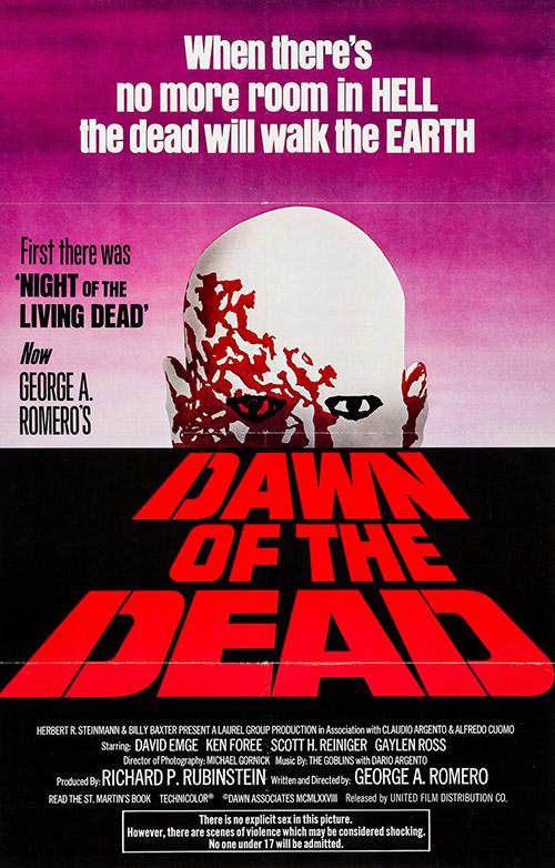 Dawn Of The Dead (1978) Dir. George A. Romero