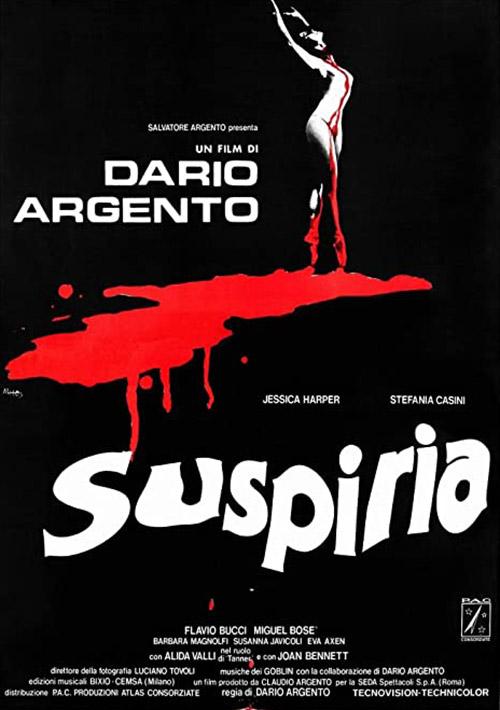 Suspiria (1977) Dir. Dario Argento